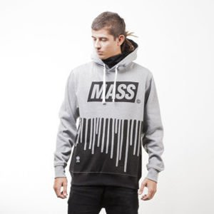 Mass Denim bluza sweatshirt Cover hoody light heather grey