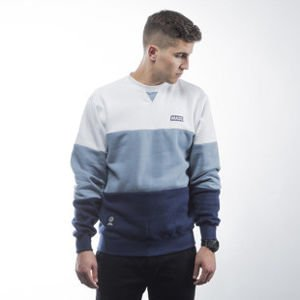 Mass Denim bluza sweatshirt Horizon crewneck steel blue / navy