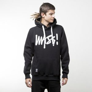 Mass Denim bluza sweatshirt Signature hoody black