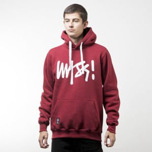 Mass Denim bluza sweatshirt Signature hoody claret