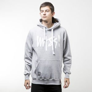 Mass Denim bluza sweatshirt Signature hoody light heather grey
