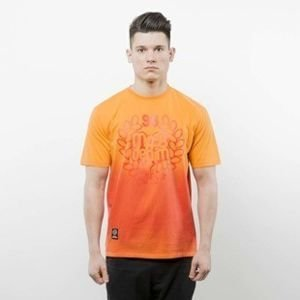Mass Denim koszulka T-shirt Base Fade red SS 2017