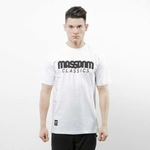 Mass Denim koszulka T-shirt Classics white SS 2017