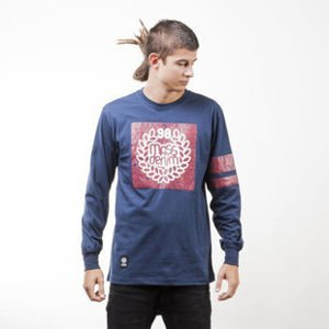 Mass Denim koszulka longsleeve Champion navy