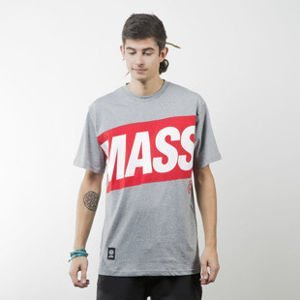Mass Denim koszulka t-shirt Big Box light heather grey