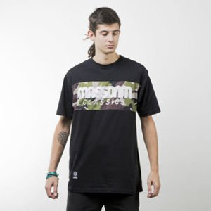 Mass Denim koszulka t-shirt Classics Camo black