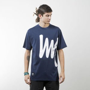 Mass Denim koszulka t-shirt Signature Big navy