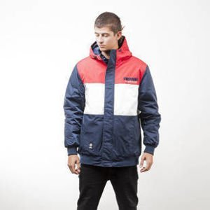 Mass Denim kurtka jacket Classics Cut navy / red