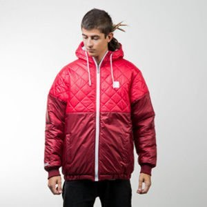 Mass Denim kurtka zimowa winter jacket Base Cut red / claret