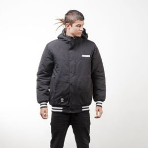 Mass Denim kurtka zimowa winter jacket District black