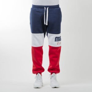 Mass Denim spodnie dresowe sweatpants Classics Cut navy / red