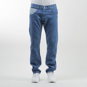 Mass Denim spodnie jeans Base Cut straight fit blue