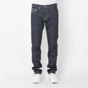 Mass Denim spodnie jeans Patrol tapered fit rinse SS2017