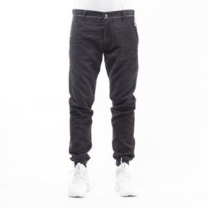Mass Denim spodnie jogger chino Classics Corduroy sneaker fit black