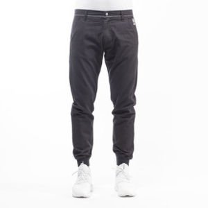 Mass Denim spodnie jogger chino Classics sneaker fit black
