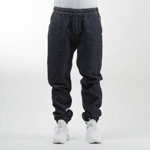 Mass Denim spodnie jogger pants Drop Denim loose fit rinse