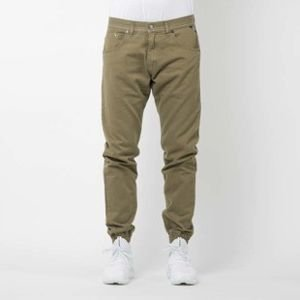 Mass Denim spodnie joggers Signature sneaker fit khaki SS2017