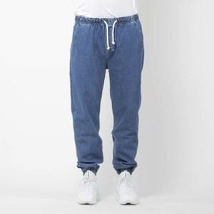 Mass Denim spodnie joggers jeans Drop loose fit blue SS2017