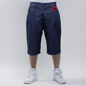 Mass Denim szorty Class baggy fit rinse
