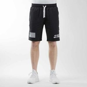 Mass Denim szorty sweatshorts Empire black BLAKK