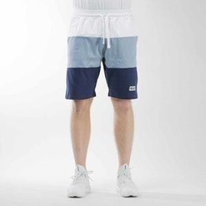 Mass Denim szorty sweatshorts Horizon steel blue / navy