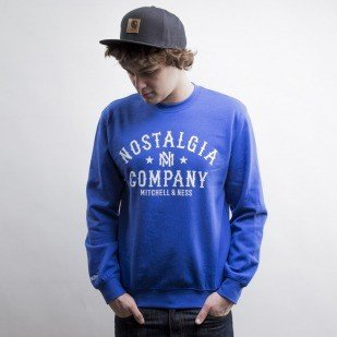 Mitchell & Ness bluza Own Brand crewneck royal Nostalgia