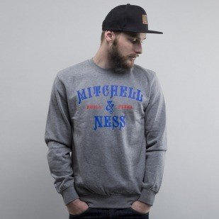 Mitchell & Ness bluza Vintage Nouveau heather grey