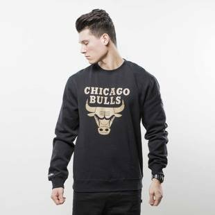 Mitchell & Ness bluza crewneck Chicago Bulls black NBA WINNING PERCENTAGE