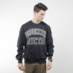 Mitchell & Ness bluza sweatshirt Brooklyn Nets crewneck black NBA START OF THE SEASON