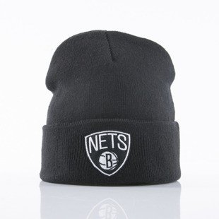 Mitchell & Ness czapka Brooklyn Nets black Cuff Knit SN001