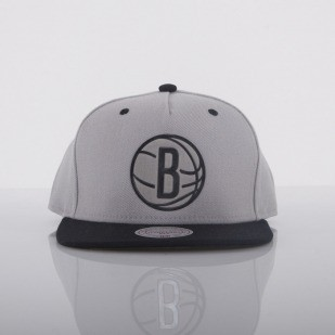 Mitchell & Ness czapka Brooklyn Nets grey Team Sonic EU245