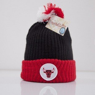 Mitchell & Ness czapka Chicago Bulls black Retro Patch KM16Z