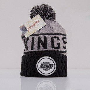 Mitchell & Ness czapka Los Angeles Kings grey High 5 KJ47Z