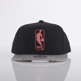 Mitchell & Ness czapka NBA Logo black / grey Carbon EU445