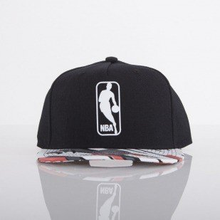 Mitchell & Ness czapka NBA Logo black / multicolor Carbon EU445