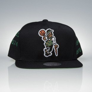 Mitchell & Ness czapka snapback Boston Celtics black Championship Years V099Z