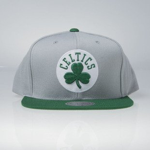 Mitchell & Ness czapka snapback Boston Celtics grey / green Current Throwback EU956