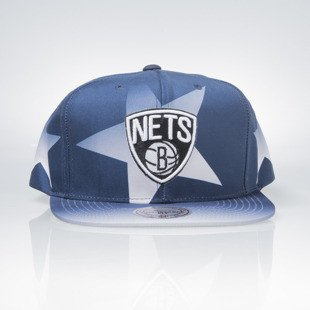 Mitchell & Ness czapka snapback Brooklyn Nets navy / red Award Ceremony VQ61Z