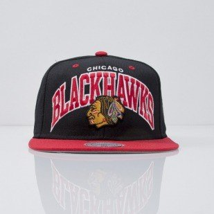 Mitchell & Ness czapka snapback Chicago Blackhawks black Team Arch ND12Z