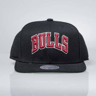 Mitchell & Ness czapka snapback Chicago Bulls black Wool Solid