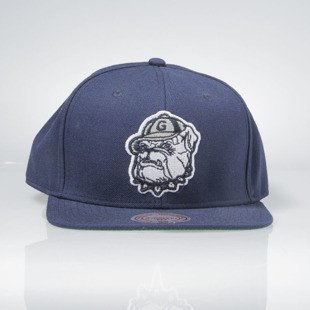 Mitchell & Ness czapka snapback Georgetown University navy NZ981