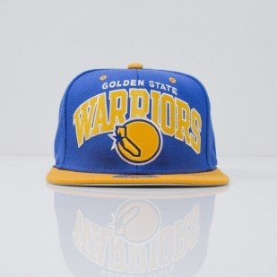 Mitchell & Ness czapka snapback Golden State Warriors blue Team Arch NA80Z