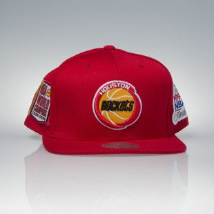 Mitchell & Ness czapka snapback Houston Rockets red The 1994 NBA Finals VP06Z