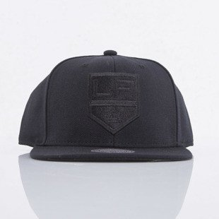 Mitchell & Ness czapka snapback Los Angeles Kings black All Black EU788