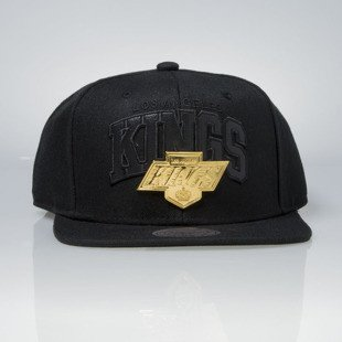 Mitchell & Ness czapka snapback Los Angeles Kings black Lux Arch EU942
