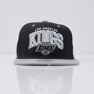 Mitchell & Ness czapka snapback Los Angeles Kings black Team Arch ND12Z