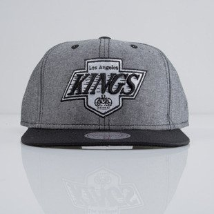 Mitchell & Ness czapka snapback Los Angeles Kings heather black EU362 ISLES