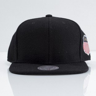 Mitchell & Ness czapka snapback M&N black Retro Melton Wool EU459