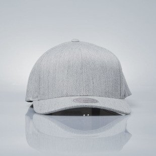 Mitchell & Ness czapka snapback M&N grey heather EU1011 SOLID COLOUR LOW PRO STRETCH