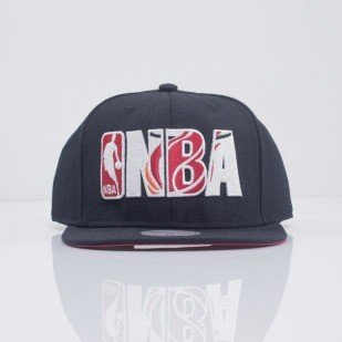 Mitchell & Ness czapka snapback Miami Heat black Insider VE34Z